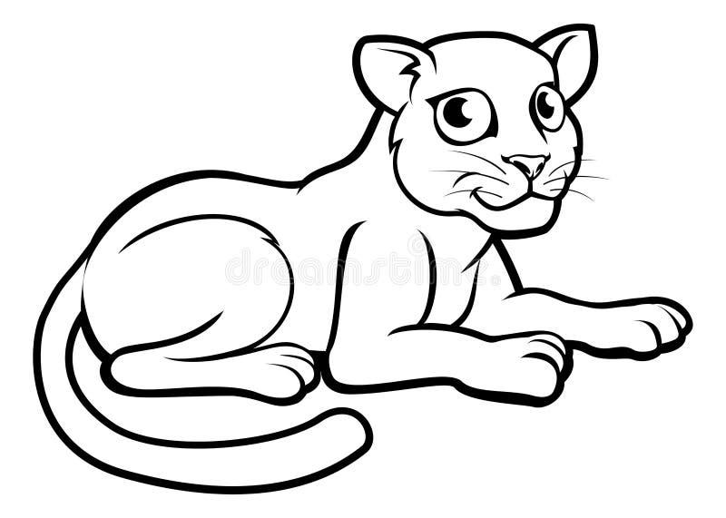 Léopard Jaguar ou panthère illustration libre de droits