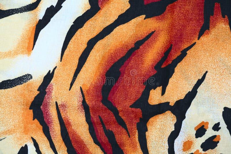 L?opard sauvage animal de chat de mod?le de tigre image libre de droits