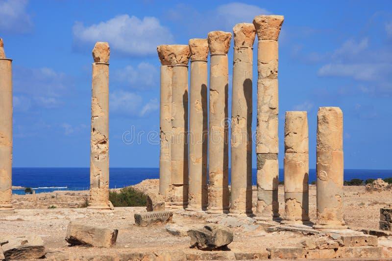 Líbia Cyrenaica Ptolomais fotos de stock royalty free