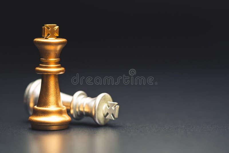 Líder Chess del éxito fotos de archivo
