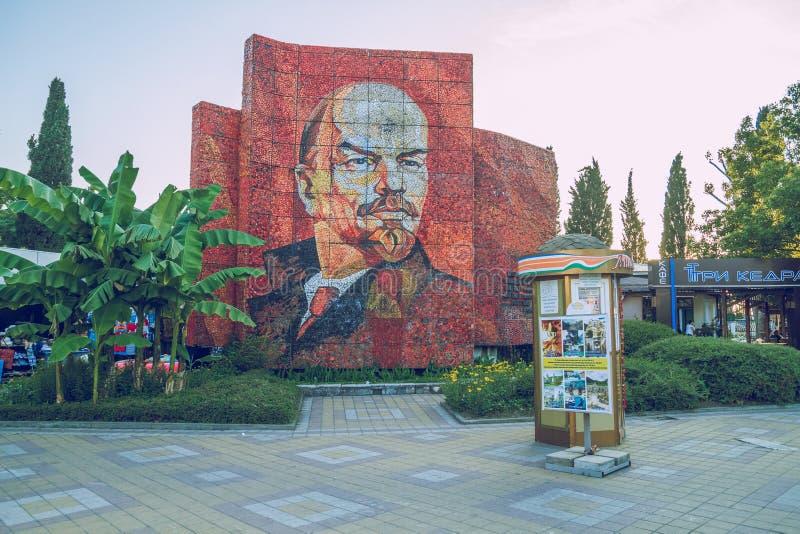 Líder comunista de URSS em Sochi imagens de stock