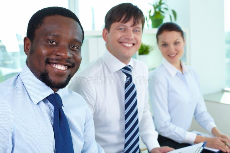 Líder da equipe do negócio imagem de stock royalty free
