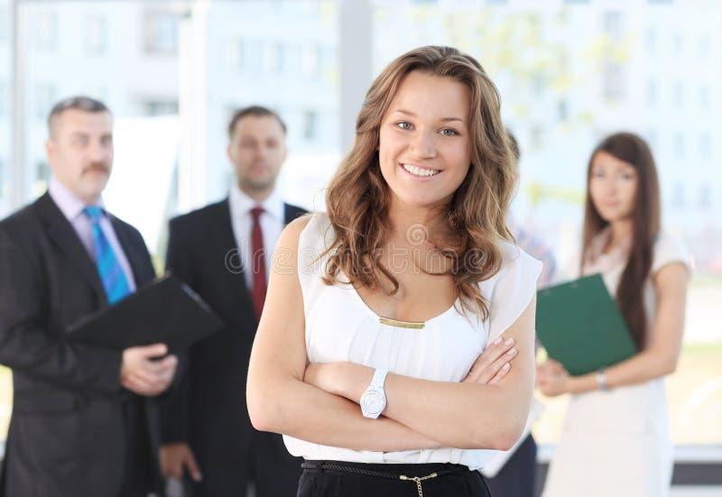 Líder de negócio fêmea foto de stock royalty free