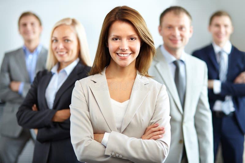 Líder de sexo femenino imagen de archivo
