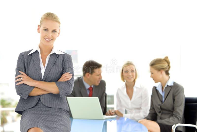 Líder executivo da mulher fotos de stock