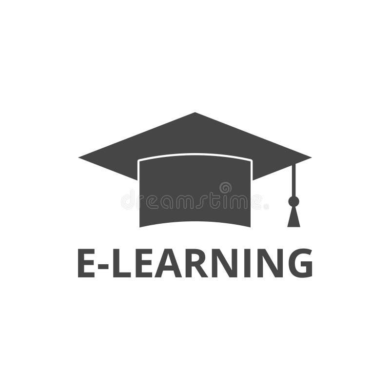 Límite de graduación, E-learning ilustración del vector