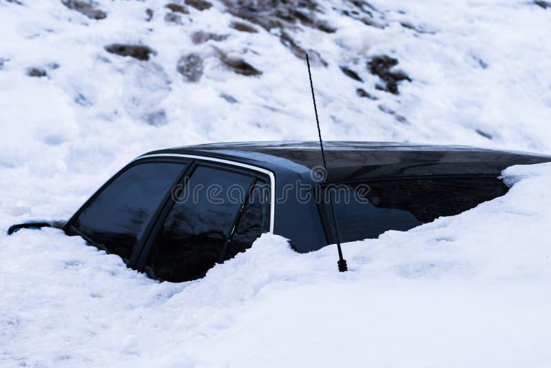 Límite de la nieve fotos de archivo libres de regalías