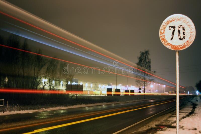 Límite de velocidad foto de archivo