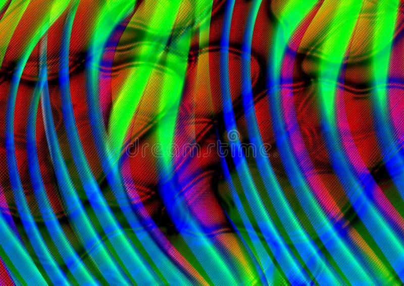 Línea abstracta fondo de la textura Color de Bokeh imágenes de archivo libres de regalías