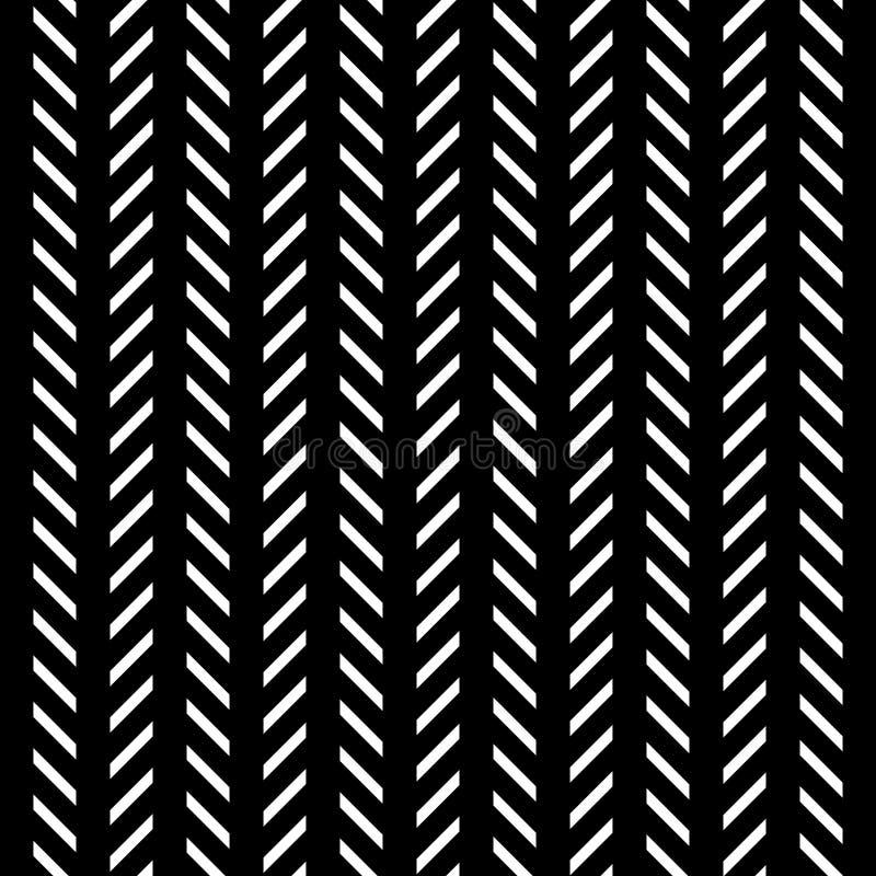Línea blanco y negro fondo del modelo del extracto stock de ilustración