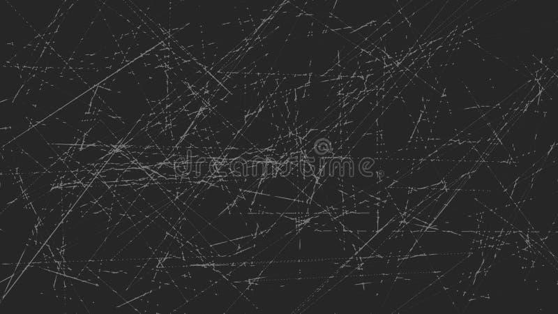 Línea colorida abstracta fondo La textura alinea fondos del papel pintado ilustración del vector