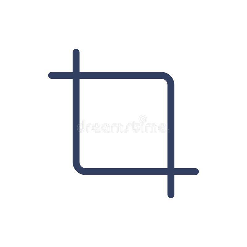 Línea cosecha del icono libre illustration