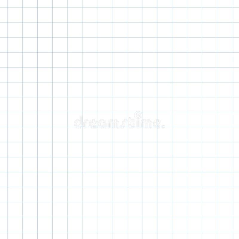 Línea cuadrada azul clara fondo inconsútil imagenes de archivo