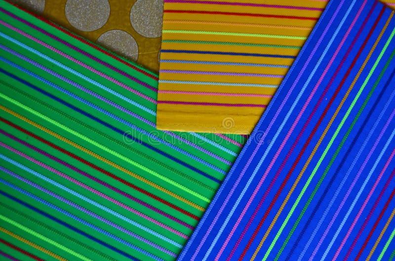 Línea de color hermosa modelo de papel imagenes de archivo