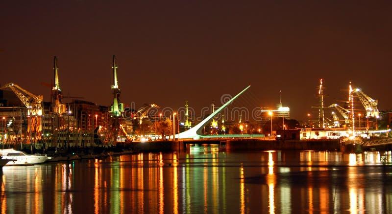 Línea de costa de Buenos Aires   imagen de archivo