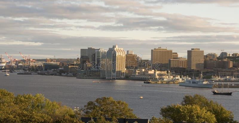 Línea de costa de Halifax fotografía de archivo libre de regalías