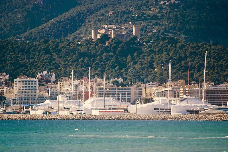 Línea de costa de Palma imagen de archivo