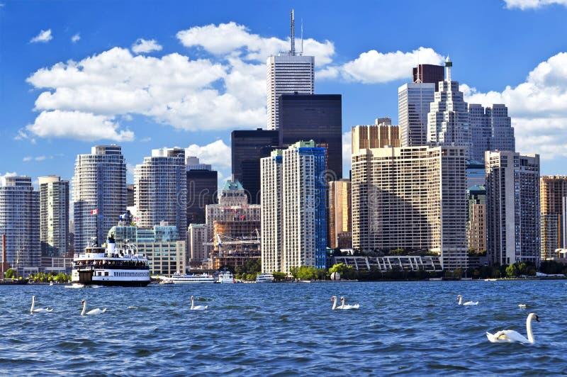 Línea de costa de Toronto fotografía de archivo libre de regalías