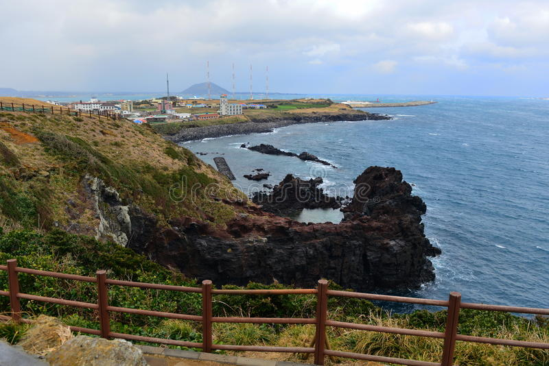 Línea de la costa imagen de archivo