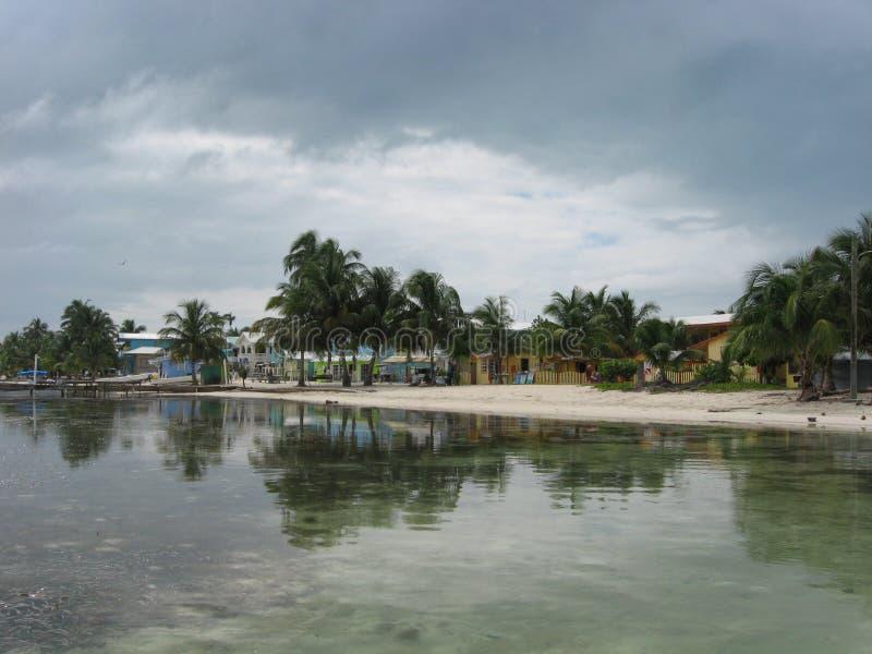 Línea de la playa de la isla foto de archivo libre de regalías