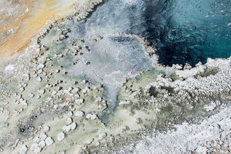 Línea de la playa texturizada fotos de archivo