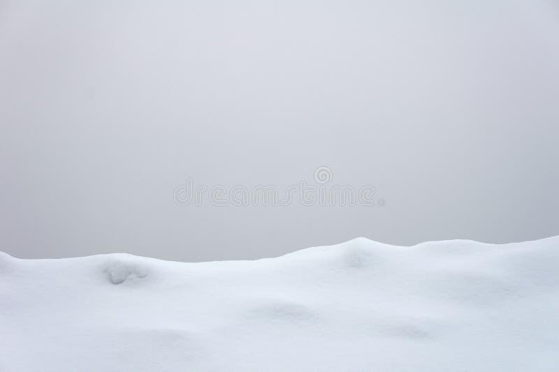 Línea de nieve imagenes de archivo