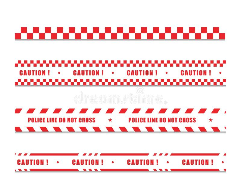 línea de policía ilustration del diseño del icono libre illustration