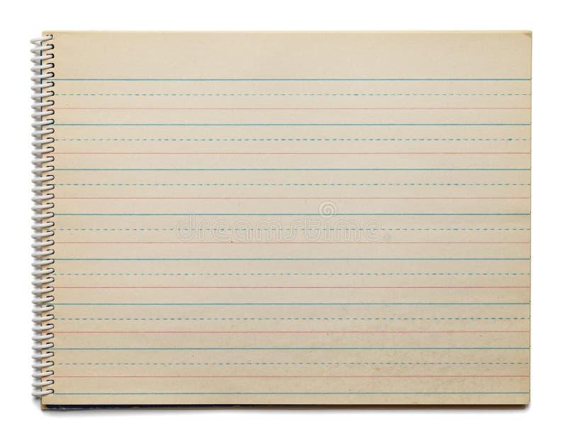 Línea de puntos papel de la antigüedad foto de archivo libre de regalías