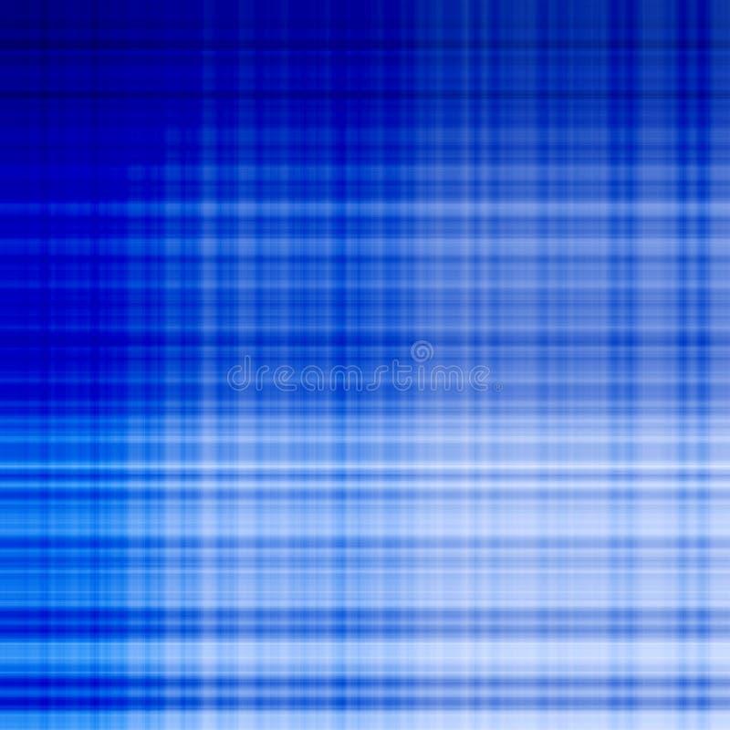Línea de red azul modelo stock de ilustración