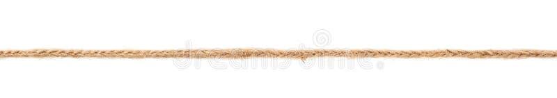 Línea de una secuencia de lino de la cuerda imagenes de archivo
