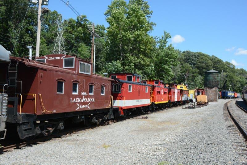 Línea del tren de Morris fotografía de archivo