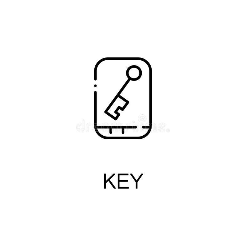 Línea dominante icono ilustración del vector