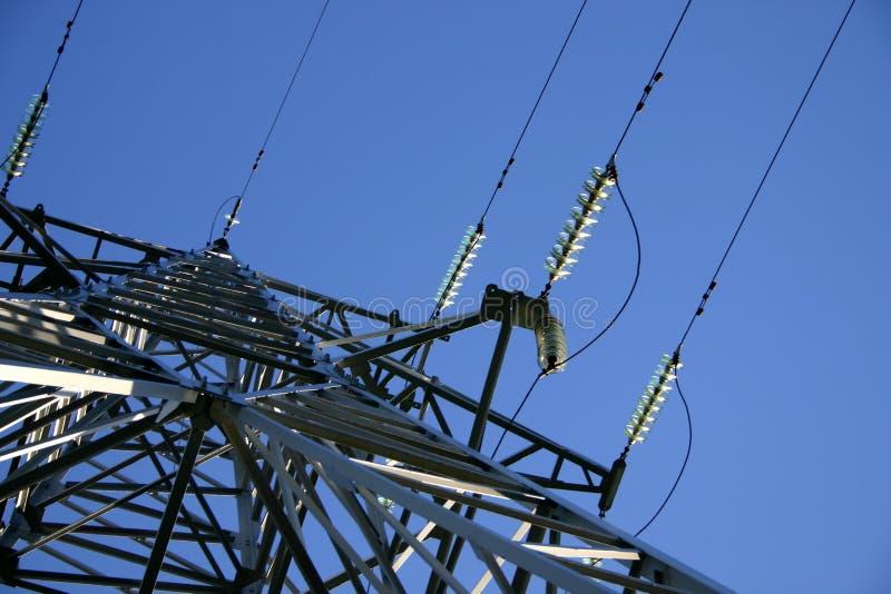Línea eléctrica III fotos de archivo