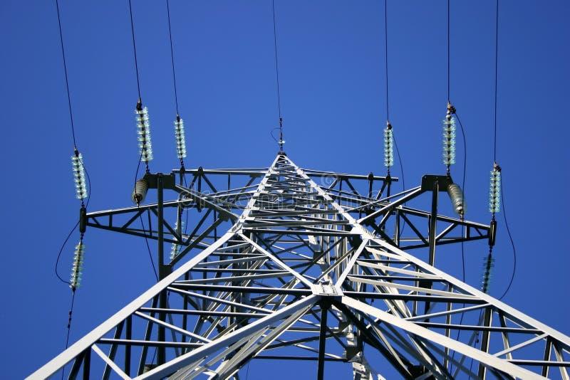 Línea Eléctrica IV Imagenes de archivo