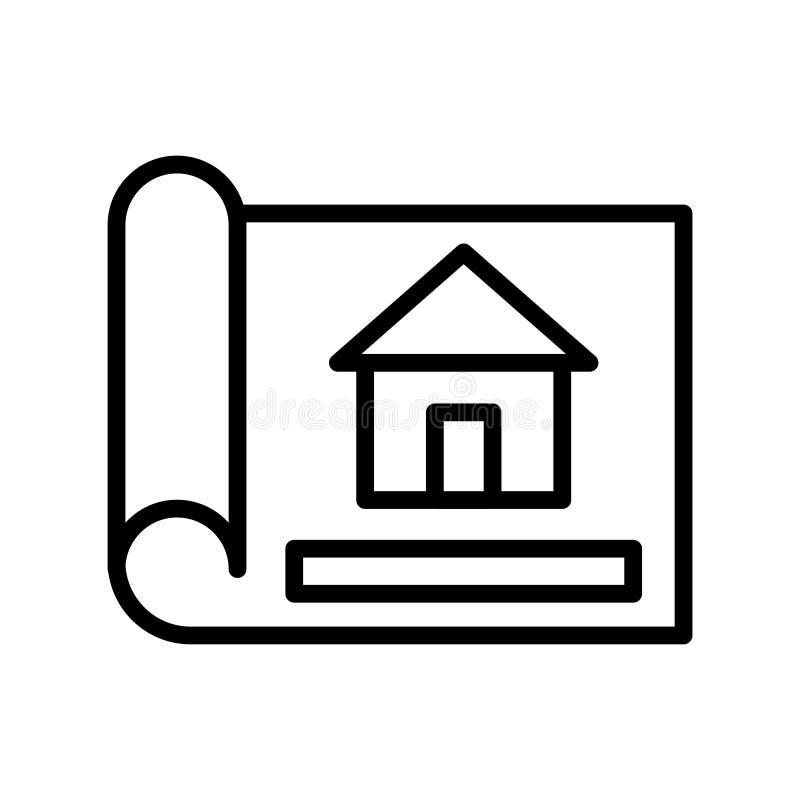 Línea fina icono del modelo del vector libre illustration