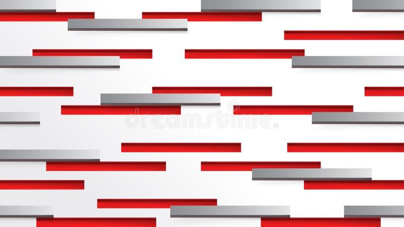 Línea geométrica fondo de la velocidad de la tecnología del extracto libre illustration