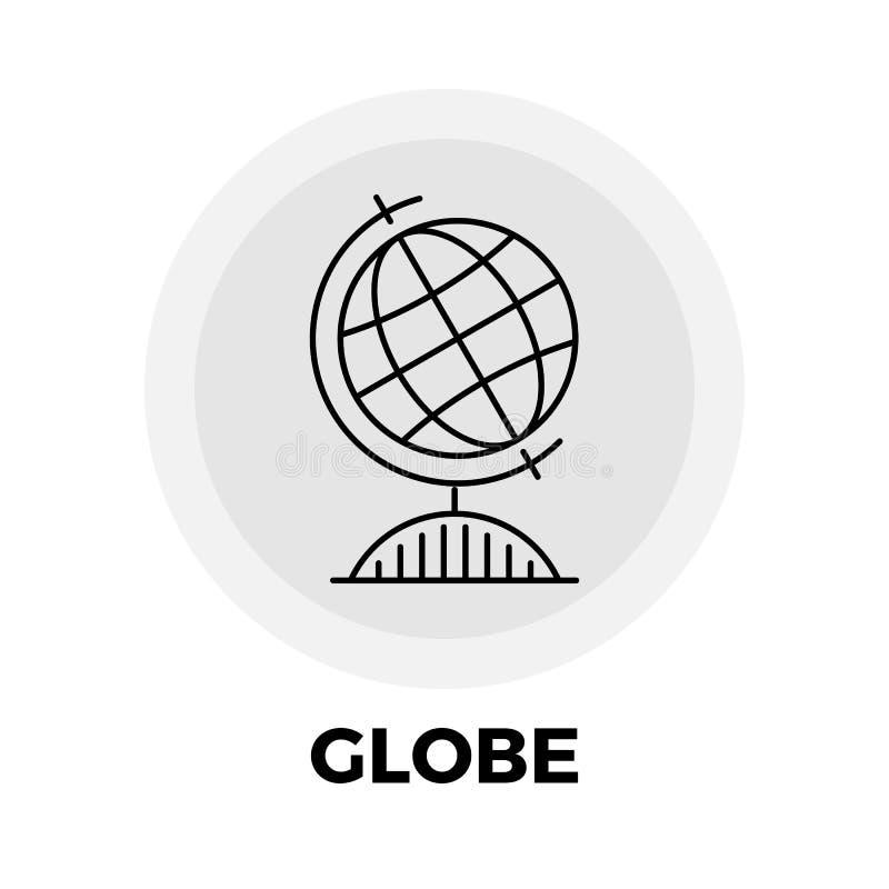 Línea icono del globo libre illustration