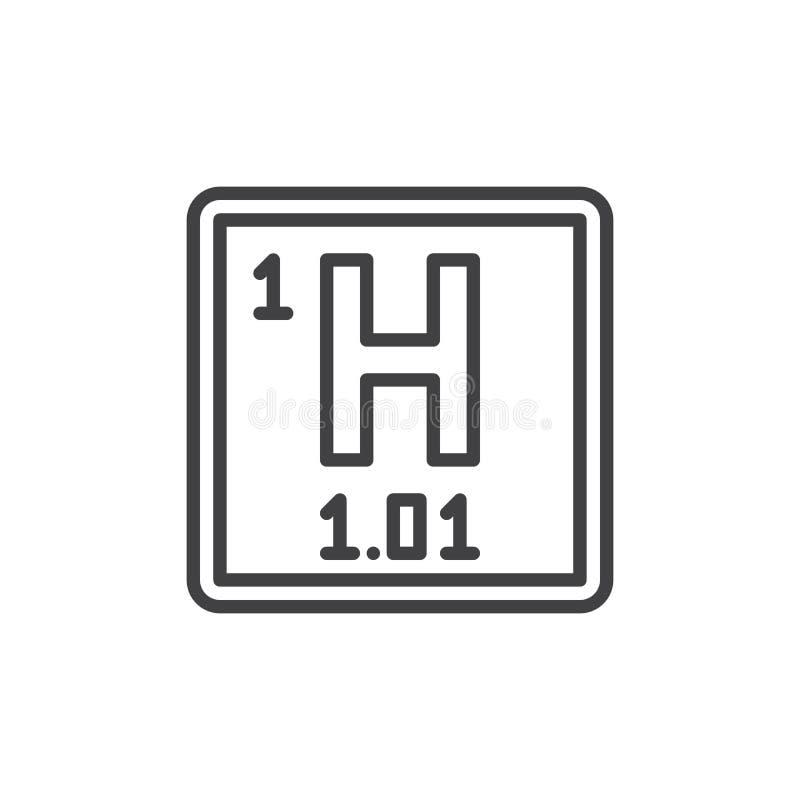 Lnea icono muestra del vector del esquema pictograma linear del download lnea icono muestra del vector del esquema pictograma linear del elemento qumico del urtaz Image collections