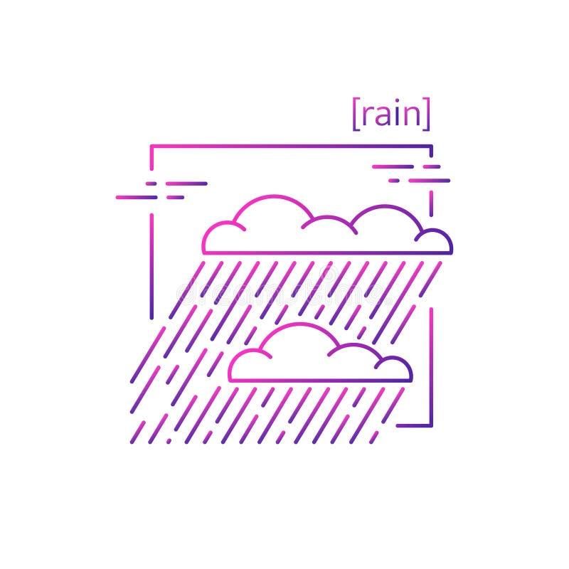 línea iconos del vector con el tiempo del símbolo libre illustration