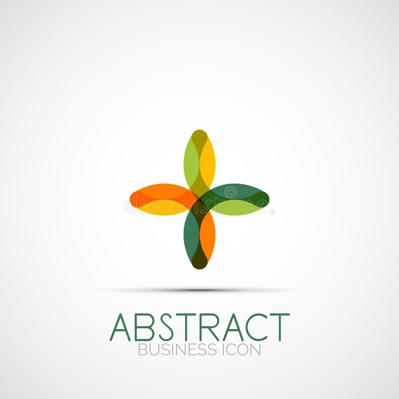 Línea logotipo del lazo del diseño libre illustration