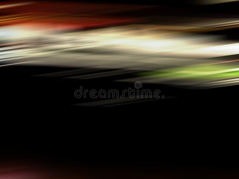 Línea mágica del color Modelo abstracto para el fondo ligero de las capas Herramienta del arte basada en partículas, partido de l fotografía de archivo