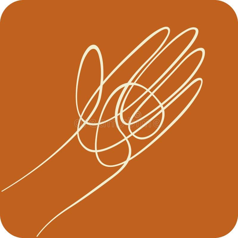 Línea mano (vector) libre illustration