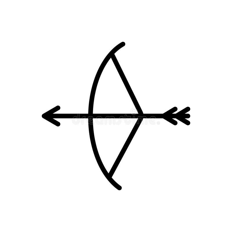 Línea negra icono para la prehistoria, la cultura y la piedra stock de ilustración