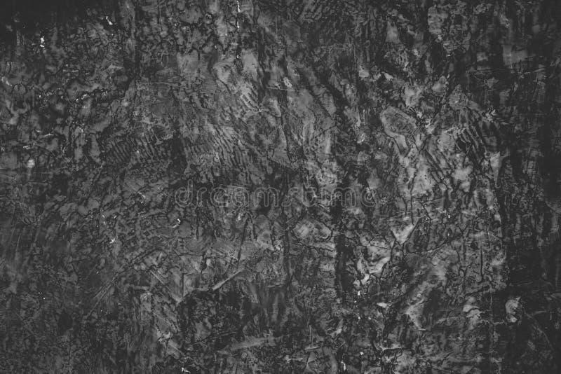 Línea negra textura del muro de cemento del vintage del desván imagen de archivo libre de regalías