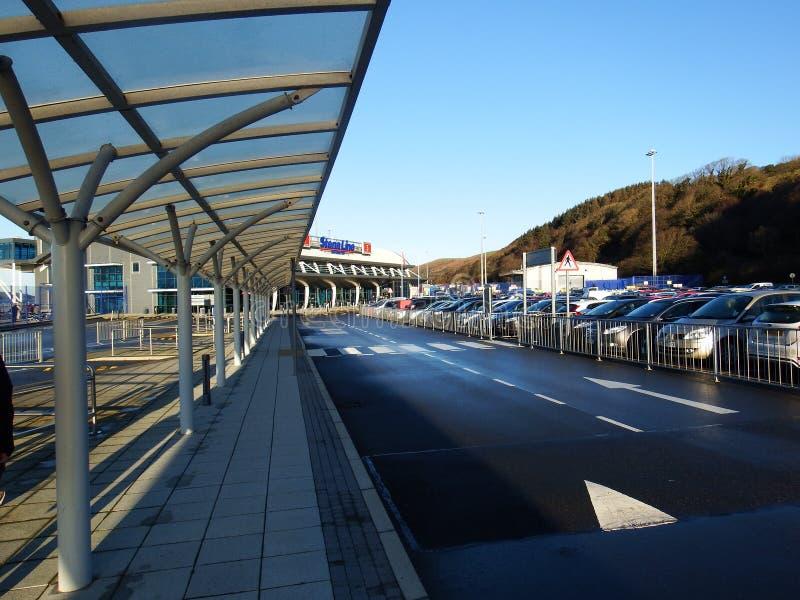 Línea terminal, Cairnryan de Stena imagen de archivo