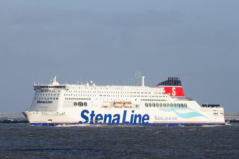 Línea transbordador de Stena fotografía de archivo