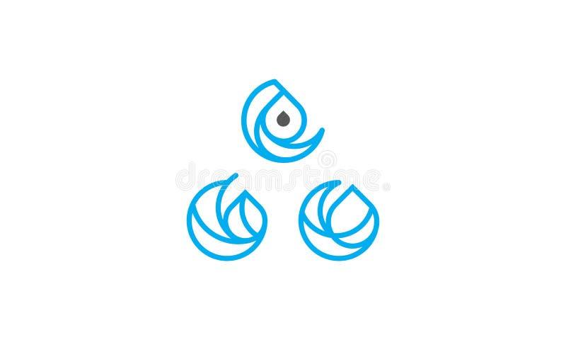 Línea vector del icono del logotipo de Swoosh del extracto del arte libre illustration