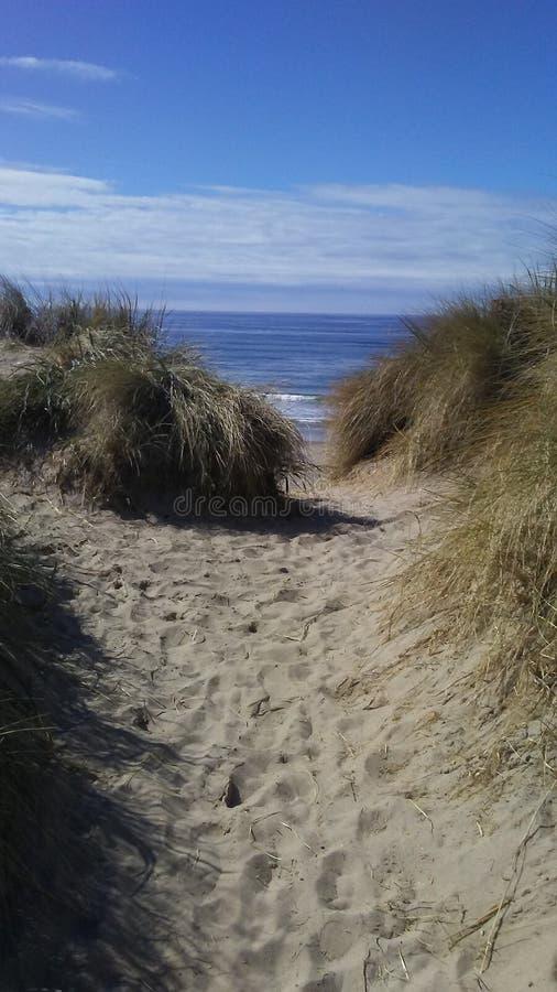 Línea Westcoast de la costa fotos de archivo