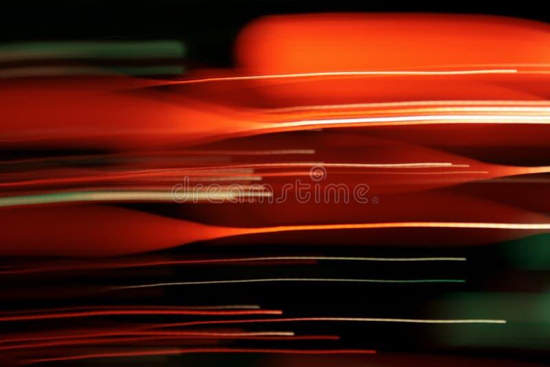 Líneas ópticas de la fibra-luz imagenes de archivo