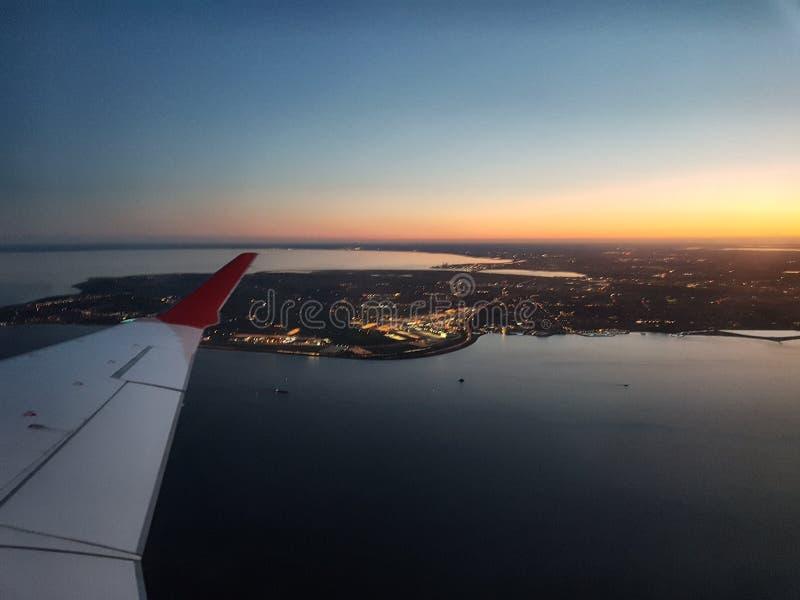 Líneas aéreas escandinavas fotos de archivo libres de regalías